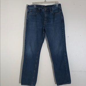 J. CREW The Sutton jeans. Straight legged.
